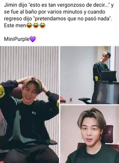 JAJAJ lo amo 💕✨ Bts Boys, Bts Bangtan Boy, Bts Jimin, Army Memes, Bts And Exo, Foto Bts, Namjin, Jikook, Jaehyun