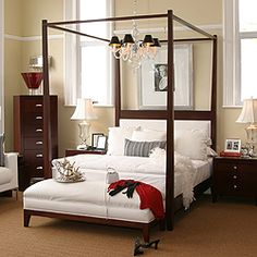 Someday When I M A Bajillionaire D Love To Have This Bed From Restoration Hardware Place For Everything Pinterest