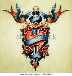 medical id tattoo  | Tattoo Illustration - 52049404 : Shutterstock