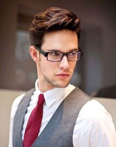 for men's hairstyles? Find hairstyle ideas with its characteristics to create your cool and trendy men's hairstyles today. Pick your style! Trendy Mens Hairstyles, Haircuts For Men, Men's Hairstyles, Glasses Hairstyles, Hairstyle Ideas, Hairstyles Pictures, Modern Haircuts, Formal Hairstyles, Latest Hairstyles