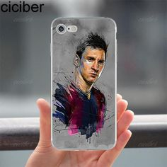 Neymar Messi Football Star Phone cases For iPhone 6 6S 7 8 plus X 5S SE