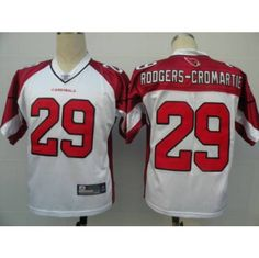 363a6cd5c Reebok Arizona Cardinals  29 Dominique Rodgers-Cromartie White Stitched NFL  Jersey