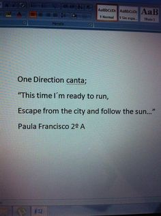 Paula Francisco, alumna de 2º A ESO IES Valle del Luna (Sta Mª del Páramo. León) Im Ready, One Direction, City, Cities