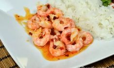 Baby Food Recipes, Healthy Recipes, Food Baby, Shrimp, Seafood, Food And Drink, Fish, Meat, God Mat