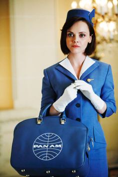 Christina Ricci / Pan-Am. I love everything in this picture. All of it is pure, unadulterated coolness.