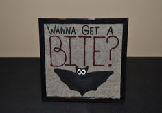 A personal favorite from my Etsy shop https://www.etsy.com/listing/466866478/wanna-get-a-bite-clay-picture
