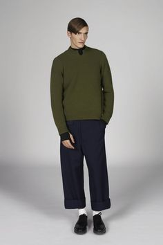 Marni Fall 2014 Menswear Collection Slideshow on Style.com