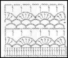 puntos crochet graficos - Buscar con Google