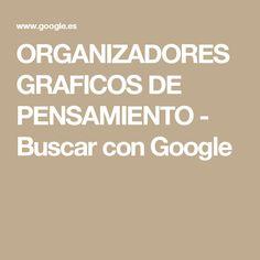 ORGANIZADORES GRAFICOS DE PENSAMIENTO - Buscar con Google