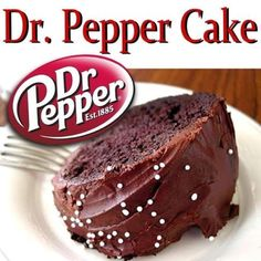 Chocolate Dr Pepper cupcakes! 1 box devils food cake mix, 1c veg oil, 4 eggs, 1 can Dr Pepper & choc icing. Cook as directed. Ice.