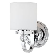 Buy the Quoizel Polished Chrome Direct. Shop for the Quoizel Polished Chrome Downtown 1 Light Tall Wall Sconce with Glass Cylinder Shade and save. Quoizel Lighting, Wall Sconce Lighting, Home Lighting, Vanity Lighting, Lighting Ideas, Interior Lighting, Lighting Direct, Outdoor Lighting, Cottage Lighting