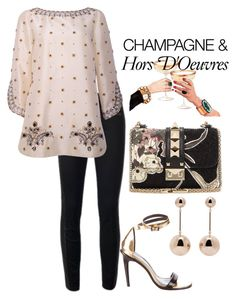 """""""Friday Night ❣"""" by easy-dressing ❤ liked on Polyvore featuring TIBI, Tory Burch, Valentino, J.W. Anderson and WhatToWear"""