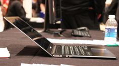 Samsung's Ativ Book 9 (2015) is a ridiculously light and thin laptop (Photo: Will Shanklin/Gizmag.com)