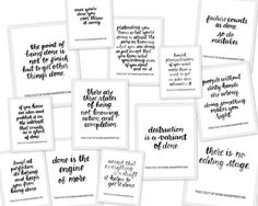 Free Printbles: Cult of Done Manifesto - Lettered by www.randomolive.com