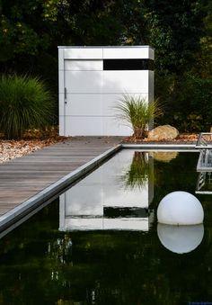 design gartenhaus münchen by design@garten - modernes Gartenhaus_@gart