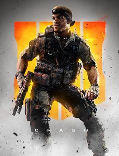 Trends International Call of Duty: Black Ops 4 - Crash Key Art Wall Poster, x Premium Unframed Cod Wars, Black Ops 4, Keys Art, Call Of Duty Black, Gaming Wallpapers, Star Citizen, Modern Warfare, Character Concept, Game Character