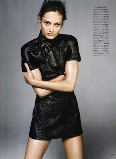 """Vogue Nippon February 2010 """"The Fabulous Phoebe"""" ph: Daniel Jackson (scanned by MAGstyle @ tFS)"""