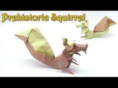 Origami Squirrel by Sergio L. Guarachi V. - Origami easy tutorial - YouTube