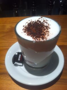 hot chocolate @ Aroma Espresso Bar