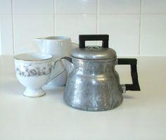 Vintage Coffee Pot, Wear-Ever 3002, Tacuco Aluminum. $22.25, via Etsy.
