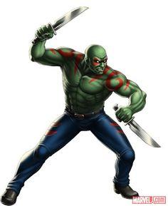 Drax The Destroyer #Marvel: Avengers Alliance