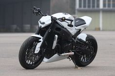 "Awesome Suzuki 2017: Suzuki GSX-R 1000 ""White Shorty "" by Bad-Bikes / I don't know how ... Check more at http://24cars.top/2017/suzuki-2017-suzuki-gsx-r-1000-white-shorty-by-bad-bikes-i-dont-know-how/"