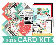 Yes, Virginia...: Another Take on Simon Says Stamp April Card Kit