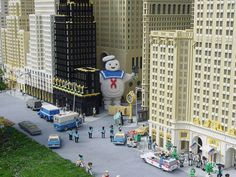 LEGO Ghostbusters in NYC