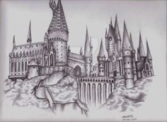 Hogwarts Castle by LeahRosslyn
