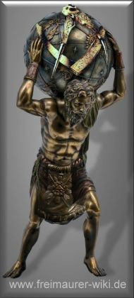 Masonic Sculpture - The Atlas. Masonic Art, Masonic Lodge, Masonic Tattoos, Prince Hall Mason, Mystic Symbols, Jobs Daughters, Templer, Eastern Star, Black History Facts