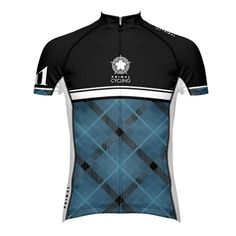 argyle cycling jersey
