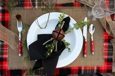 Winter Tablescape - traditional - dining room - kansas city - Michelle Edwards