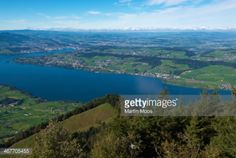Kussnachtersee (Lake), fjord-like inlet of Vierwaldstattersee... #kussnacht: Kussnachtersee (Lake), fjord-like inlet of… #kussnacht