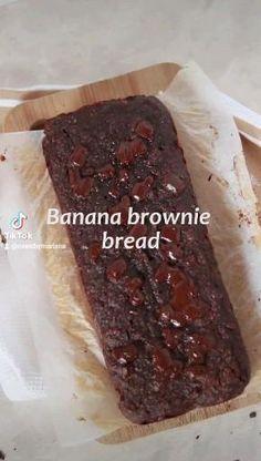 Veggie Recipes, Healthy Recipes, Banana Brownies, Vegan Baking, Diy Food, Food Inspiration, Good Food, Food And Drink, Snacks