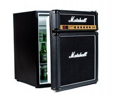 Looking for the perfect gift for that special musician in your life. The Marshall Amp fridge will keep your beer cold for those long jam sessions.