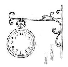 clock with hands