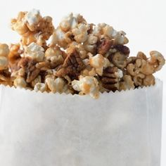 Maple Pecan Popcorn Recipe | The Daily Meal