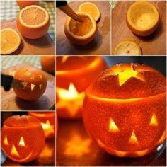 Halloween Orange Lantern from The Whoot