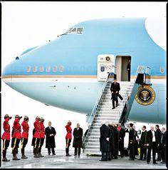 Canadian photographer Christopher Wahl -  Барак  Обама   в Торонто