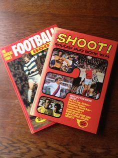 2 Vintage 1970's Football/Soccer Books by PickleKids on Etsy, £3.95