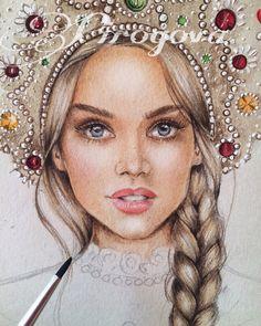 Ирина Пирогова | Fashion illustration