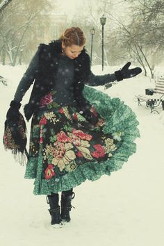So marvelous that this was photographed in the snow...