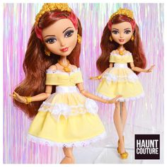 Fairytale Doll Haunt Couture Evermore high by HauntCoutureAtelier