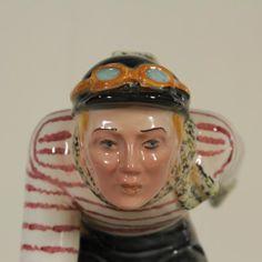 Ceramica Tosin, Lo sciatore - particolare