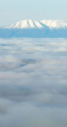 Fog covers Anchorage, with Mt. Susitna behind, in this view from the hillside Wednesday, Nov. 1, 2017. (Loren Holmes / Alaska Dispatch News)