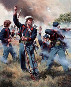 "Civil War: 69th New York State Militia , Company K ""Irish Zouaves"" 1861"