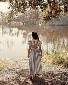 Christy Dawn The Jane Dress Knee Length Dresses, Day Dresses, Summer Dresses, Daytime Dresses, Button Up Skirts, Girly Outfits, Buy Dress, Dress Skirt, Vintage Denim