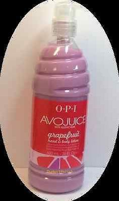 Cran & Berry  OPI Avojuice Skin Quenchers Hand & Body Lotion 600ml - 20 oz Choose Your Favor