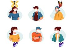 M90_People wearing medical mask in Illustrations on Yellow Images Creative Store M90_People wearing medical mask. Present your design on this mockup. Includes special layers and smart objects for your creative works. Tags: abstract, ai, artwork, assistance, banner, bundle, character, clinic, concept, consultation, Coronavirus, covid-19, doctor, doctors, equipment, fever, flat, flu, graphic, header, health, health-care, healthy, help, hospital, illustration, infographic, isometric, landing… Murphy Bed Mechanism, Venetian Carnival Masks, Creative Illustration, Mask Design, Creative Words, New Trends, Kylie Jenner, Your Design, Infographic