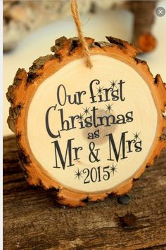 Our 1st Christmas as Mr. And Mrs.